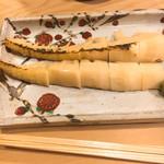 喜幸 - 焼き筍 美味しかったですよ!