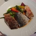 うさぎの小屋 -  ランチ メイン魚料理