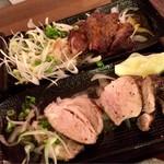 炭焼き 九州創作酒場 焼肉 はぐるま - (奥)牛ハラミ炭火焼き(ハーフ) 860円