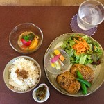 ジャム cafe 可鈴 - 料理写真:【週替わりランチ(950円)】お料理が出揃いました。