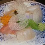 和餐 - お刺身は5種類