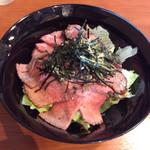 71296198 - ローストビーフ丼980円