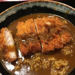 71296858 - カレー丼 トンカツトッピング