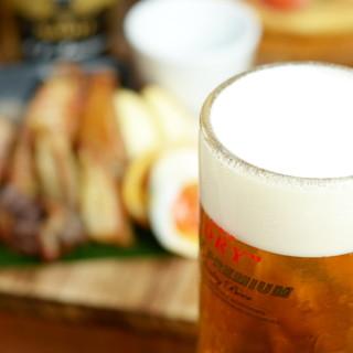 【旨さの為に】美味いビールの為の手間は惜しみません!