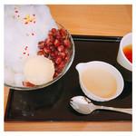 神戸風月堂  - 和三盆みるく氷 900円