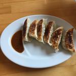 自家製麺 仁 - 餃子。