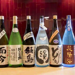 """【米にこだわる】""""通好み""""の希少な地酒が豊富にご用意"""