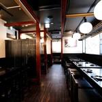 串天ぷらと日本酒バル かぐら - 内観写真
