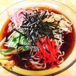 大須賀食堂 - 料理写真:冷し中華(夏季限定)