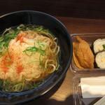 71299965 - 天ぷらえきそば&助六寿司