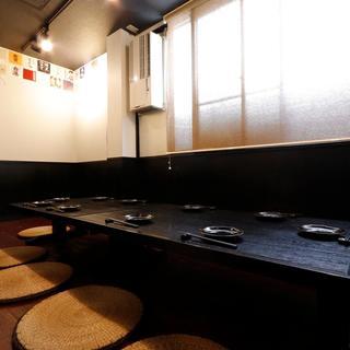 宴会に最適な個室完備◎25名様~貸切も対応します!