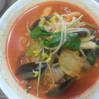 【食べていただきたい!】海鮮たっぷり◆韓国チャンポン◆