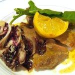 713537 - (08/8ディナー)イベリコ豚のソテー リモーネ風味