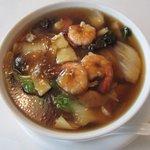 蝦仁 - エビ麺