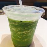 みのりカフェ - 小松菜とリンゴのスムージー 594円