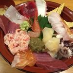 魚旨 - 市場丼+ノドグロトッピング