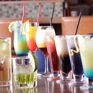 地域最多125種飲み放題!ノンアルコールカクテル35種付き!