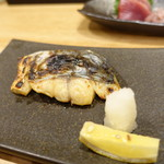 71303124 - お刺身定食DXの鰆西京焼き