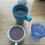 71303625 - コーヒー、スープ、お水 ♪