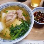 大衆割烹 三州屋 - 鳥豆腐480円