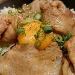 いちげん - 炙り豚丼。