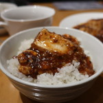湘南火鍋房 - 四川風マーボー豆腐オンザライス