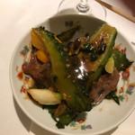 71305999 - ゴーヤと牛肉の炒め