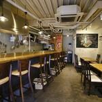 ステーキ食堂 BECO - カウンター6席、テーブル12席,全18席