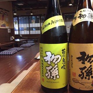 日本各地の地酒もおすすめ★