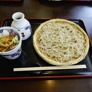 ニ八そば ひらい - 料理写真:もりそば(700円)税込