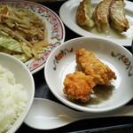 71307130 - 野菜炒めランチ