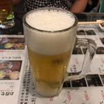 鳥福 - 2017年08月10日  生ビール