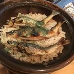 割烹天竜 - 鮎の土鍋ご飯