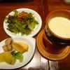 ピア サピド - 料理写真:チーズフォンデュ・サラダ