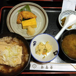 71310789 - 豆腐茶飯と焼魚定食