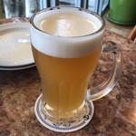 松島イタリアン トト - 松島ビールヘレス  クリーミィな泡  いい感じ♪