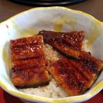 71311397 - うなぎ丼と麺(うなぎ丼)