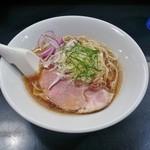 麺処 晴 - 中華そば(冷やし)730円