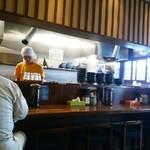 麺屋 もり田 - 店内はごく普通