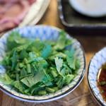 大衆焼肉コグマヤ - 2017.8 薬味パクチー