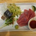 福島壱麺 - 〆鯖&まぐろ