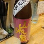 福島壱麺 - 山城屋 純米吟醸 越淡麗(新潟県)
