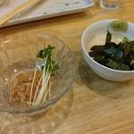 福島壱麺 - 梅水晶&月見とろろ