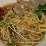 福島壱麺 - 燃え萌え壱麺助-梅水晶投入