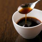桜里 - お料理に使うポン酢も桜里特製です