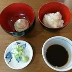 71315927 - くるみ・小布施辛味大根・葱&山葵・蕎麦汁