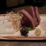 銀蕎麦國定 - お刺身