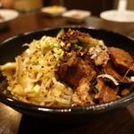 朋友雑穀食府 - ☆平麺で面白い(#^.^#)☆