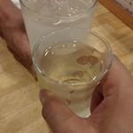 福島壱麺 - ボビーさんと乾杯