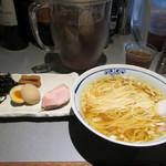 71316933 - 氷見産煮干しラーメン。800円